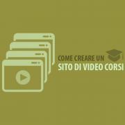 Come creare un sito di video corsi