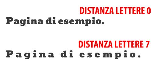 Distanza Lettere