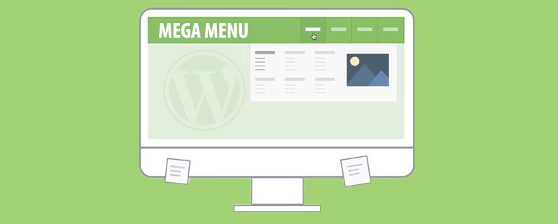 mega menu wordpress