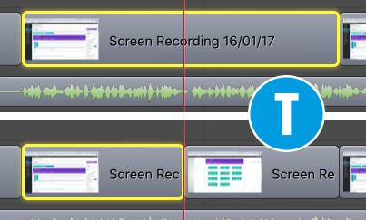 screenflow taglio