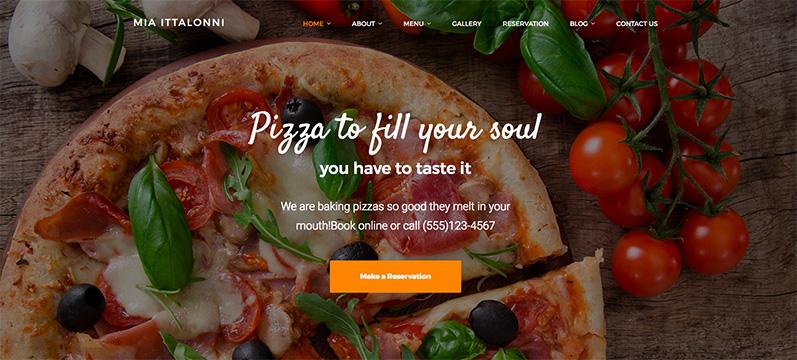 mia-italloni tema ristorante