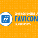 creare favicon wordpress