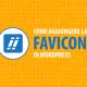 creare favicon wordpress