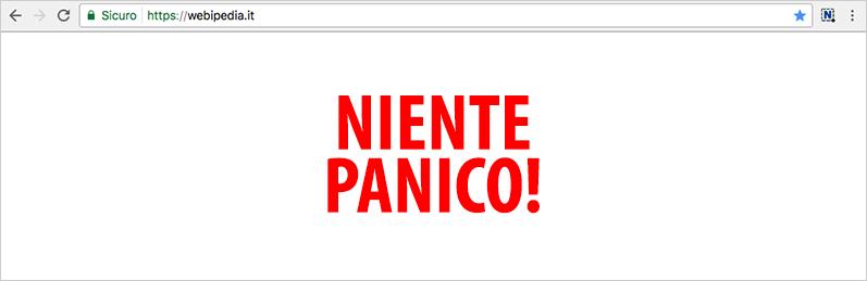 WordPress schermo bianco