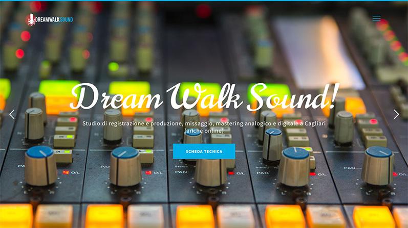 Dreamwalk Sound: Studio di Registrzione