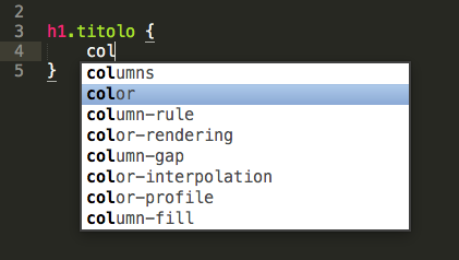 Editor Auto Compilazione