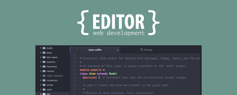 Editor di testi per web development
