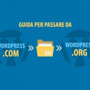 passare da wordpress.com a wordpress.org