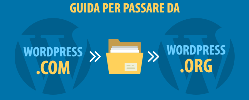 passare da wordpress.com a wordpress.org