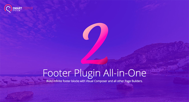 smart footer system plugin