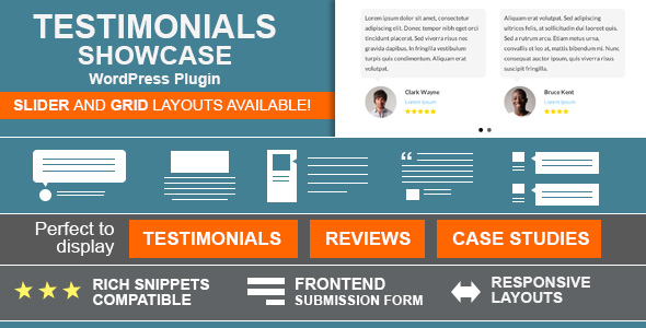 testimonials showcase plugin