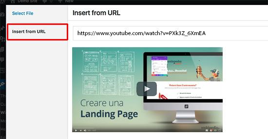 widget video