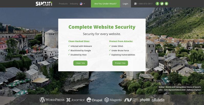 Sucuri website
