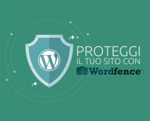 Proteggere sito con Wordfence