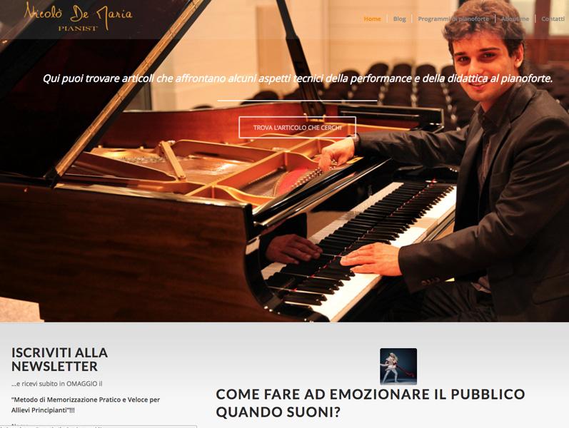 nicolo de maria blog per pianisti