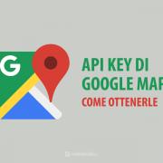 google api key mappe