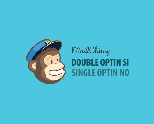 Mailchimp double optin single optin
