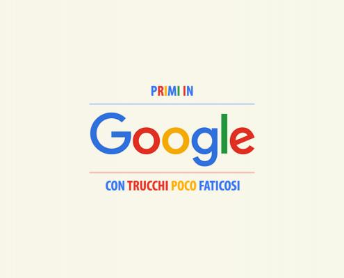 Primi in Google
