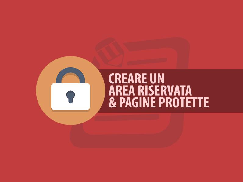 3e80e8c2fbcb Creare Area Riservata o Pagina protetta da Password — Webipedia.it