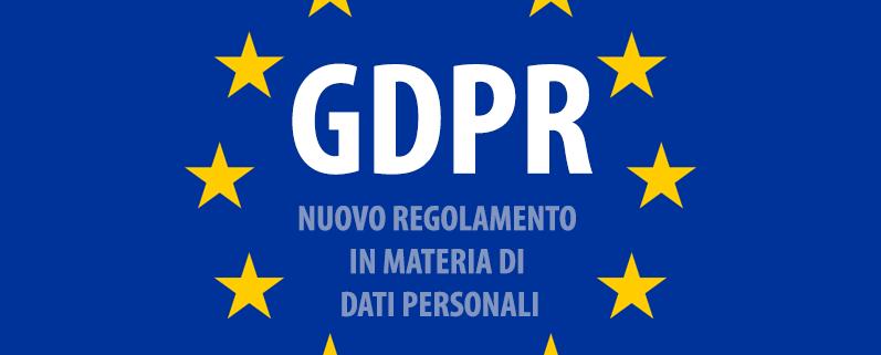 GDPR regolamento europeo-trattamento dati personali