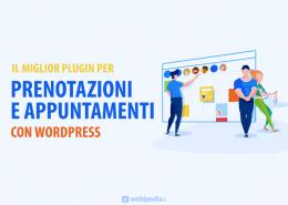 plugin per prenotazione appuntamenti WordPress